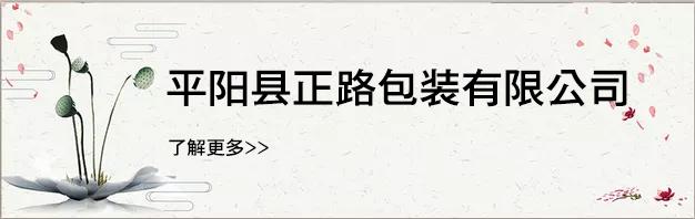平阳县正路包装有限公司