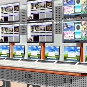 电视墙控制台多媒体讲台机柜设计制造