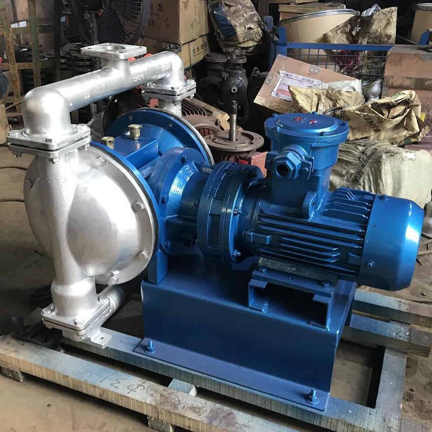 DBY电动隔膜泵 不锈钢304材质,配F46膜片电动隔膜泵