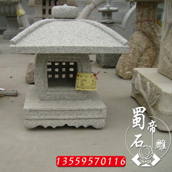 供应直销石雕景观石灯笼庭院 寺庙古建灯笼