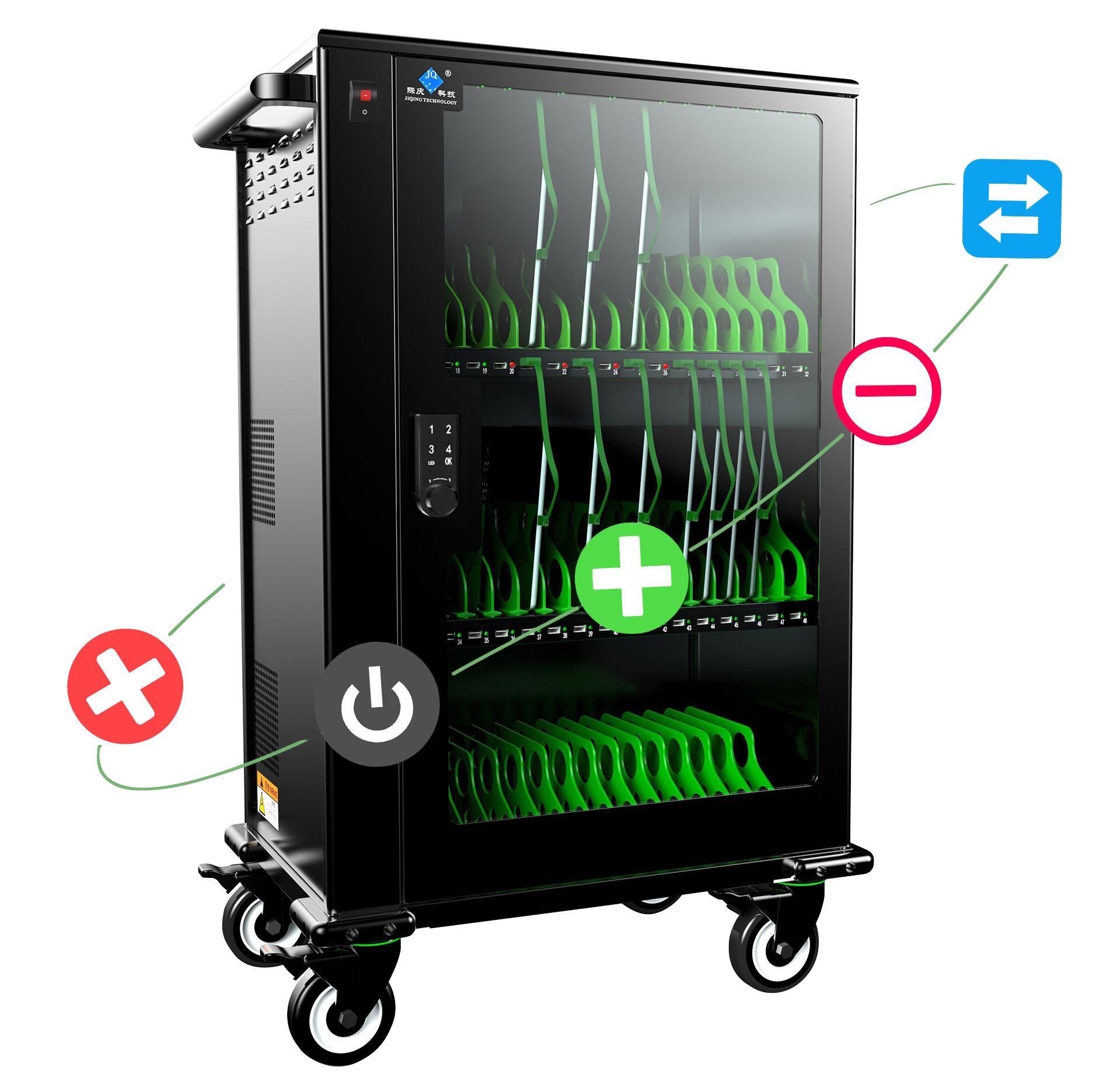 际庆科技数据同步充电柜sync48(数据同步传输)智慧课专用充电柜