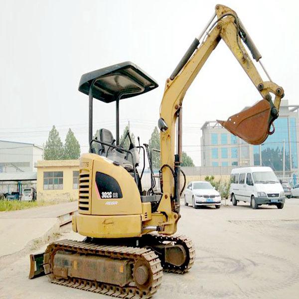 【现货直销】卡特二手微型挖掘机  山西忻州二手小型挖掘机市场供应