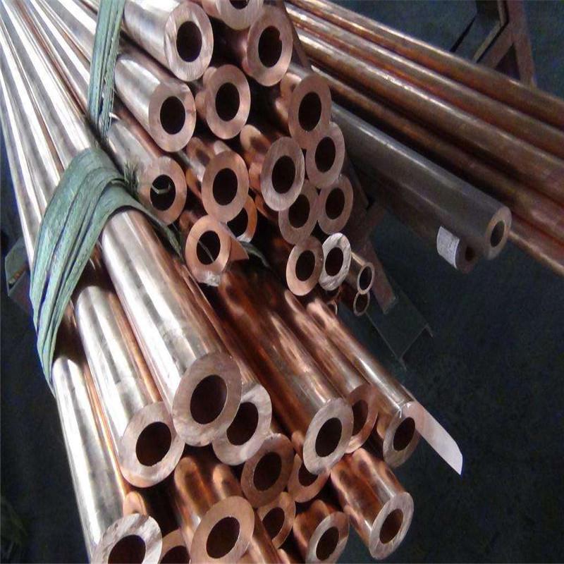 铜启伽厂家直销T2红铜管高纯度紫铜管