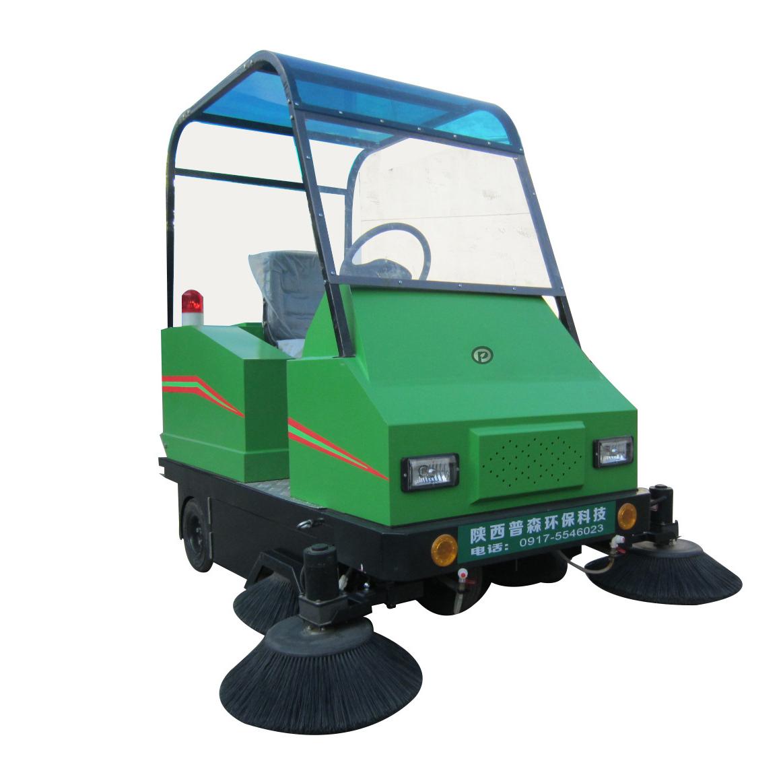 陕西西安普森电动扫地车驾驶式智能清扫车PS-J1860AP