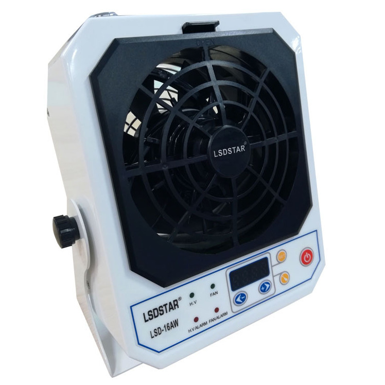 LSD龙氏达台式离子风机LSD-16AW除静电离子风机防静电设备