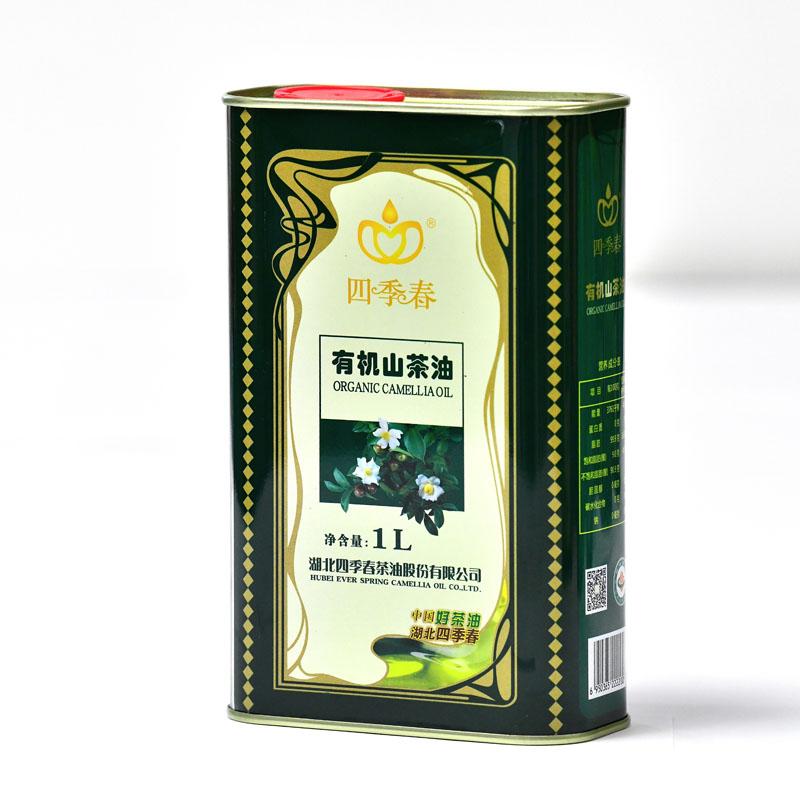 四季春1L铁罐包装茶油天然山茶油纯正野茶树茶籽油食用油 农家茶油