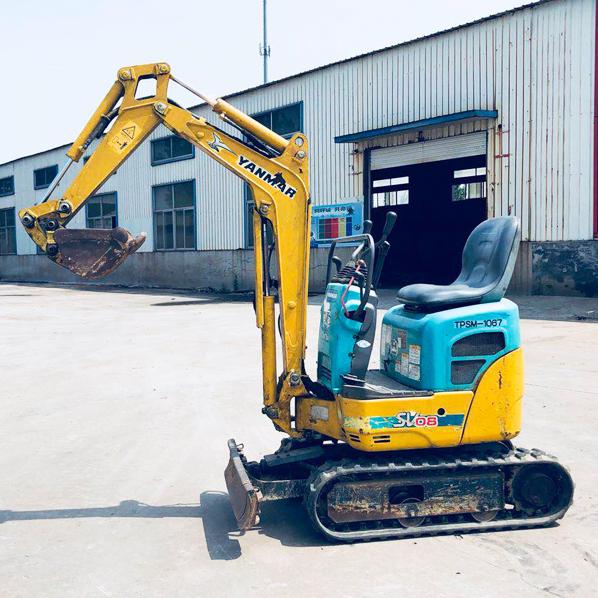 二手洋马vio08挖掘机  河南鹤壁市二手挖机市场