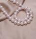供应 厂家直销淡水**珍珠项链长款正圆强光可加工定制