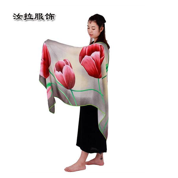 圍巾定制,女士印花圍巾OEM定制-汝拉服飾 加工有故事圍巾