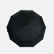 供应 商务十骨加固抗风全自动雨伞 弯钩木柄折叠伞