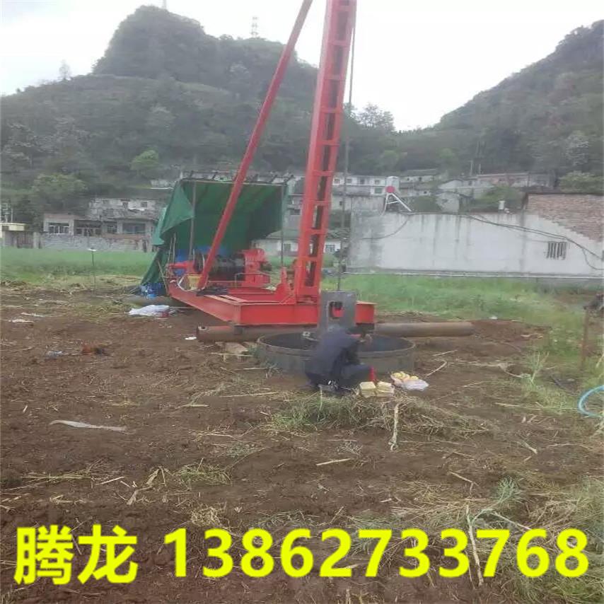 云南手拉钻机冲桩机打桩机价格 冲孔桩机型号