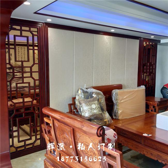 长沙实木家具定制印尼材料 实木衣柜 餐边柜订制服务周到