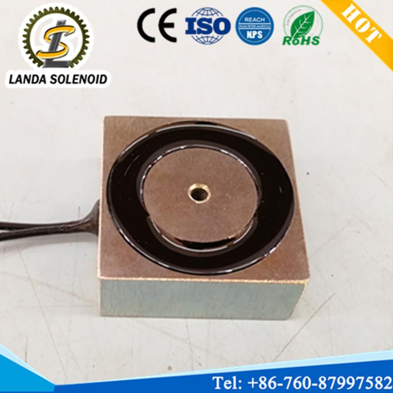 厂家直销 兰达小型方形吸盘式电磁铁H404017 24V直流