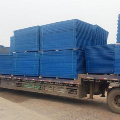 建筑外围爬架网片 蓝色防护全钢爬架网 新型耐用建筑外围安全网片
