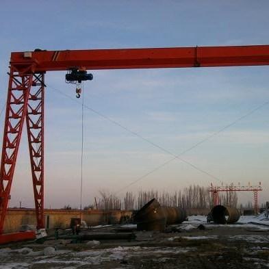 出售20吨起重机16吨双主梁龙门吊跨度28米腿高9米
