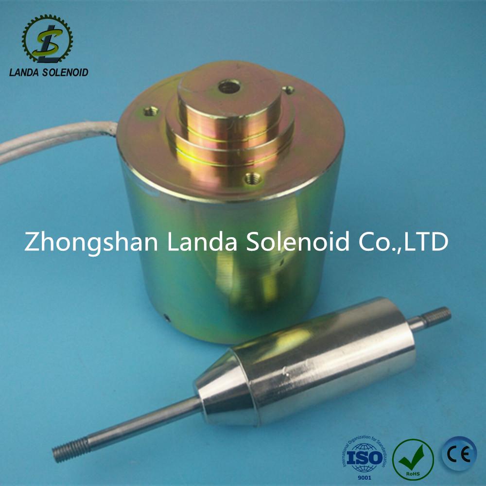 TU8080圆管式电磁铁 厂家直销直流推拉式电磁铁
