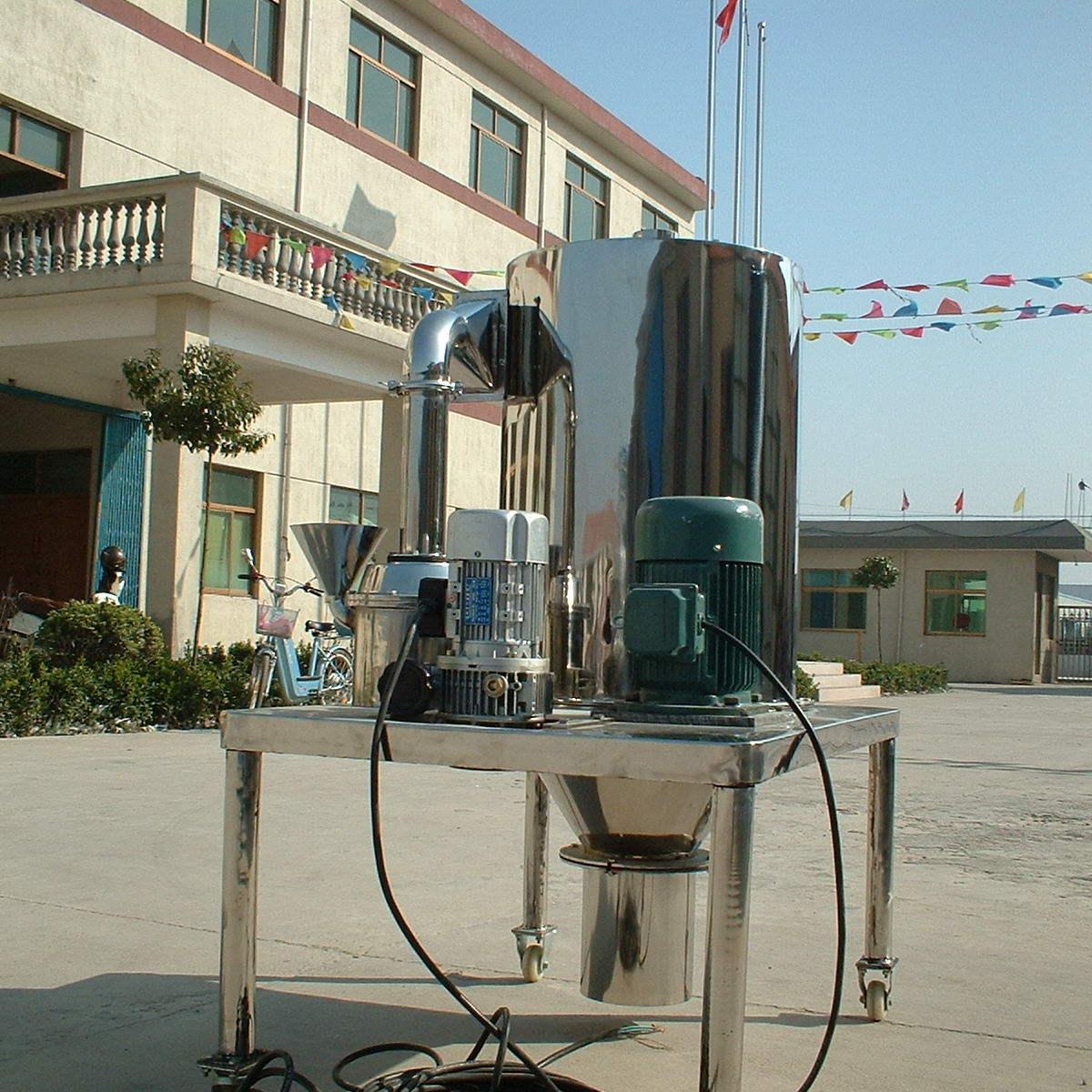 无锡杰琪祥直供环氧树脂不锈钢粉碎机 DCM-450超微粉碎机