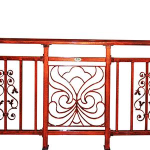 阳台护栏定制复古铝合金露台围栏