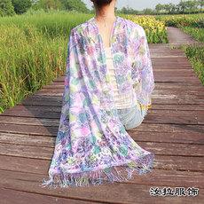 订制围巾,订做围巾-到义乌围巾厂汝拉服饰 支持来样来图定做