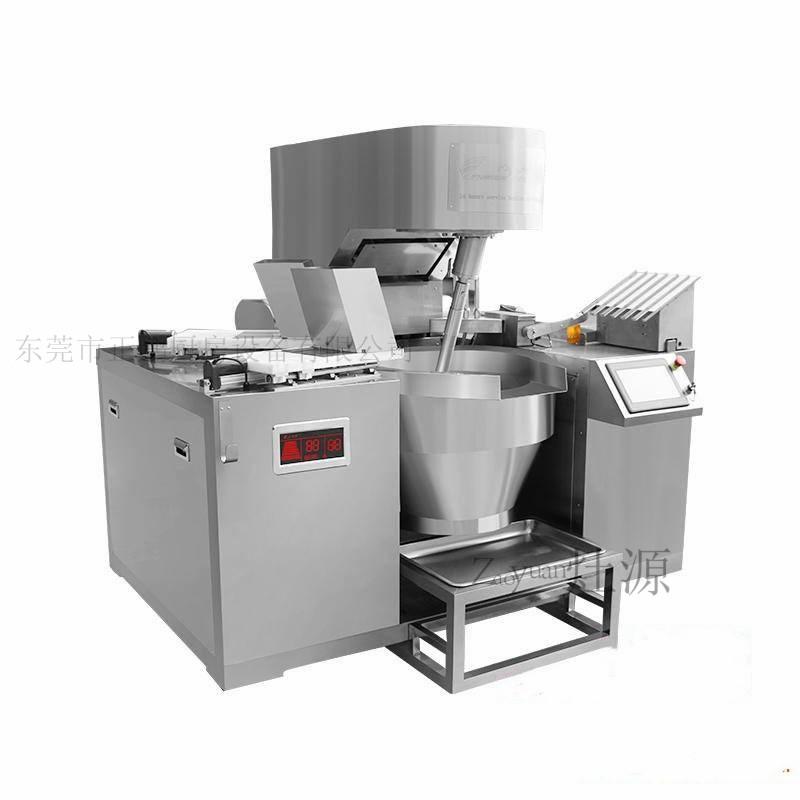 东莞半自动炒菜机 自动颠锅机价 自动加油加水的炒菜机
