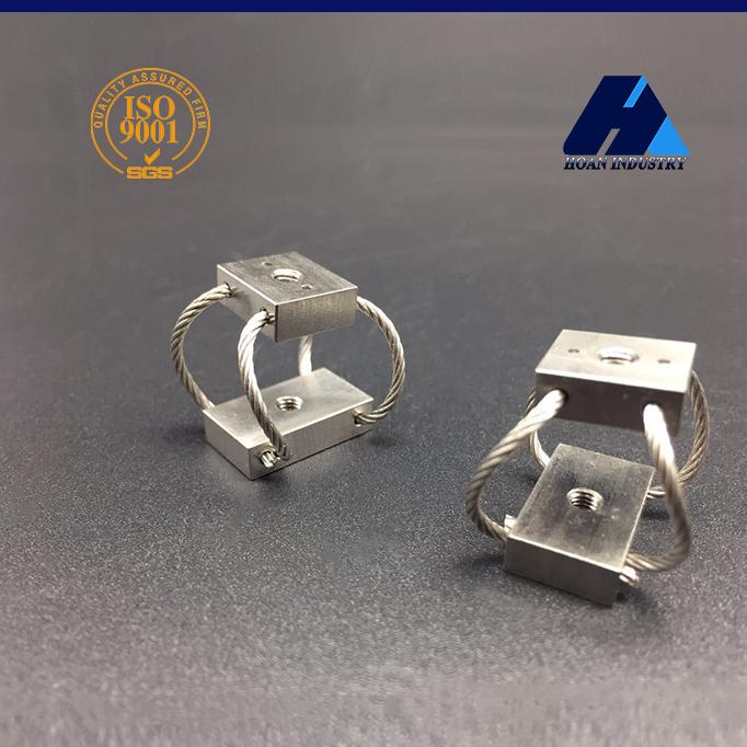西安宏安 GR2-4.9D-A蝶型钢丝绳隔振器