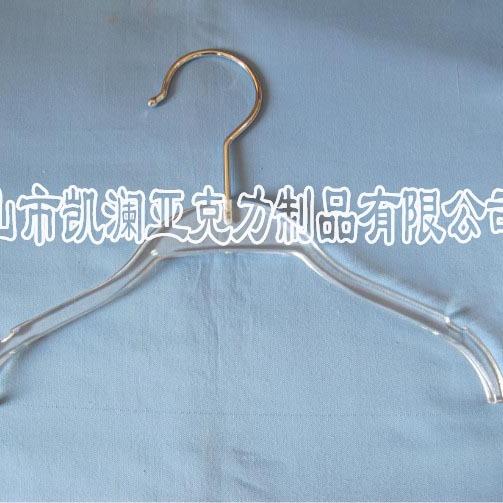创意亚克力PMMA衣架 加工定制 透明有机玻璃家用衣架 厂家直销