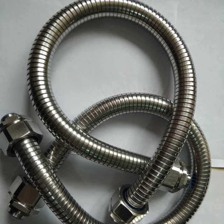 304不锈钢包塑PVC双扣不锈钢软管 SSIP-12电线电缆?;し浪莱窘鹗羧砉?0mm
