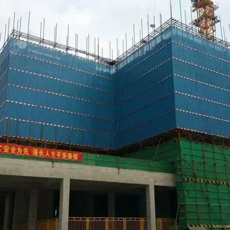 直销高层建筑专用爬架网 安全防护全钢板爬架网