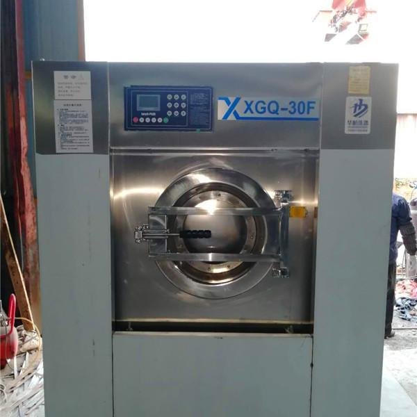 中小型宾馆床单洗涤设备 自驱宾馆洗衣机价格