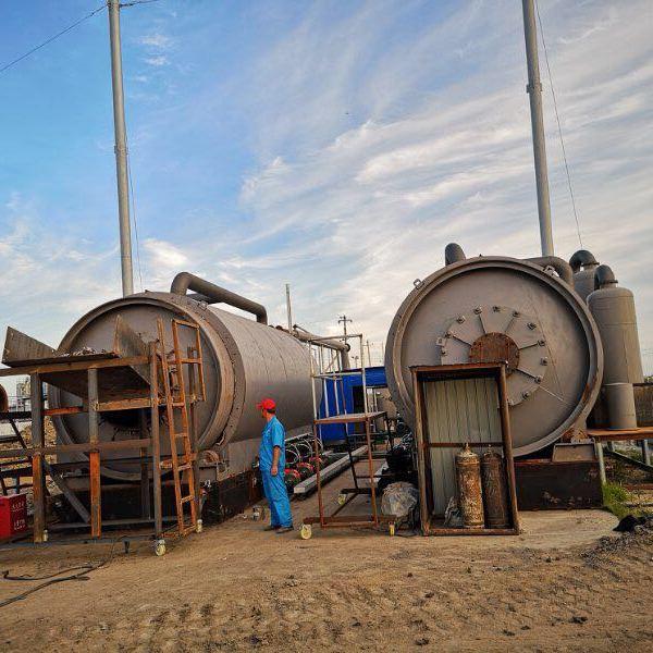 四海能源LJ-10热销款废塑料环保炼油设备