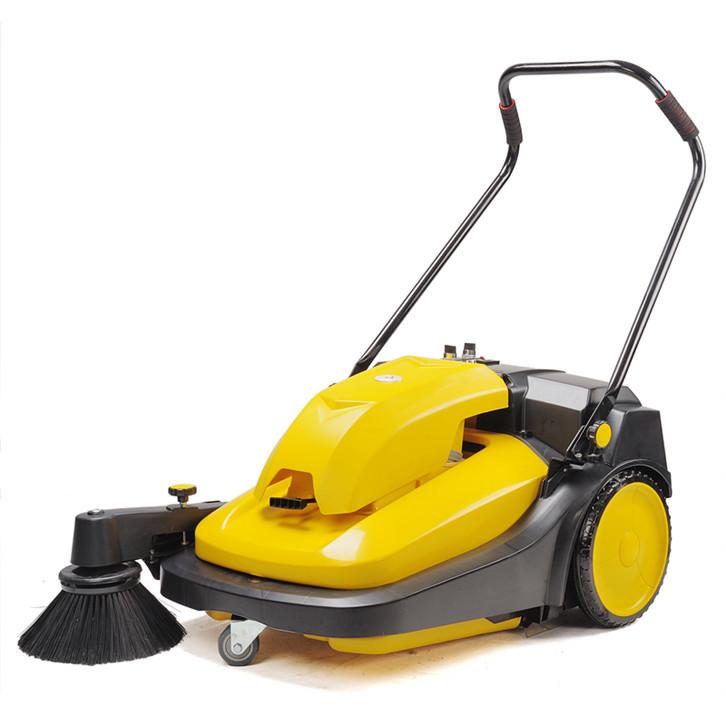 驰洁手推式扫地机工厂车间用扫灰尘垃圾用扫地机