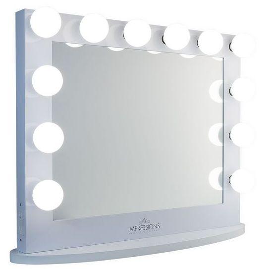 好莱坞鏡 灯泡镜 发光梳妆镜 台式镜 好莱坞灯泡镜 发光灯泡镜 美容镜 梳妆镜