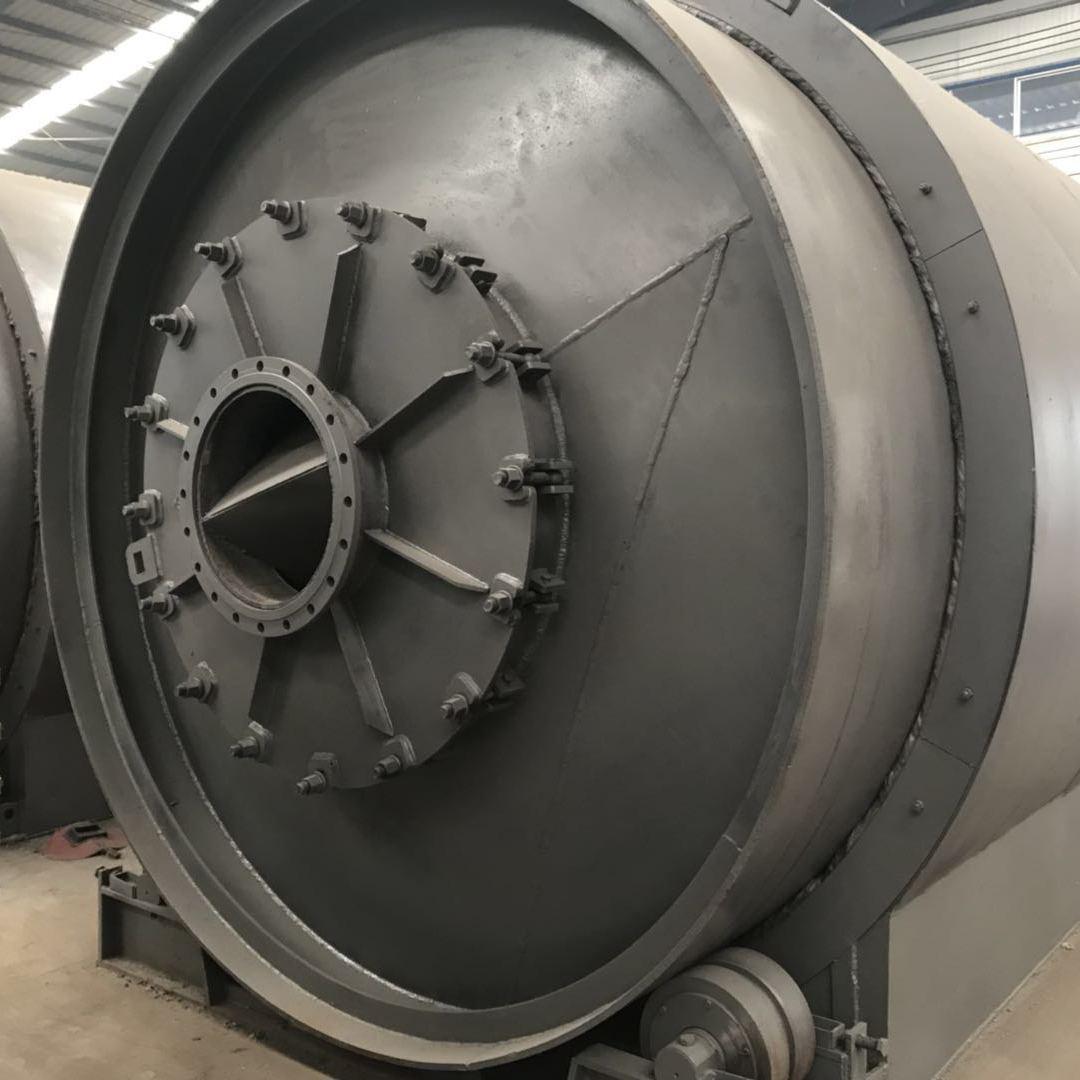 商丘四海能源供应LJ-8废橡胶废塑料废轮胎裂解炼油设备