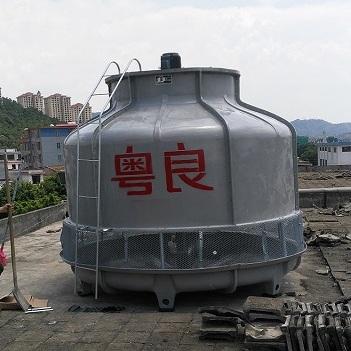 300吨玻璃钢冷却塔-300t冷却塔价格-粤良专业制造