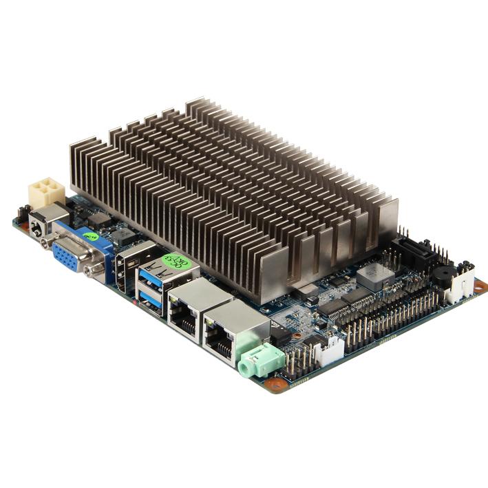 迷你主板 集成cpu DC 4PIN ATX供电 SIM mini主板 工控主板厂家