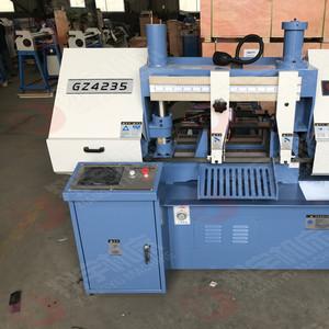 供应 GZ4235数控金属带锯床 全自动带锯床日本PLC控制系统