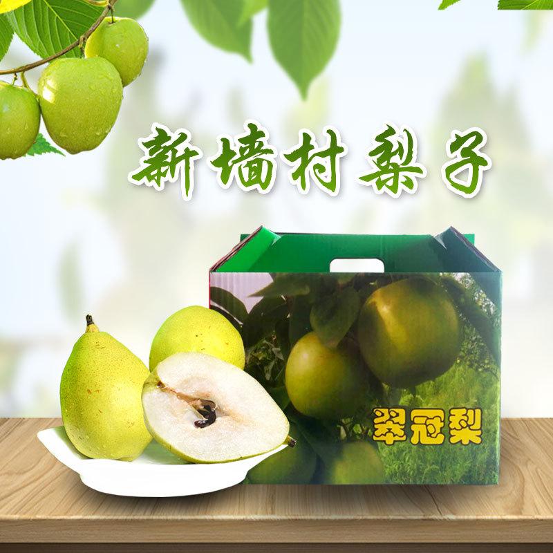 现摘鲜活梨子 新墙村特产 新鲜水果