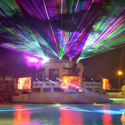 WS-RGB-20W彩色舞臺激光燈|綠色舞臺激光燈