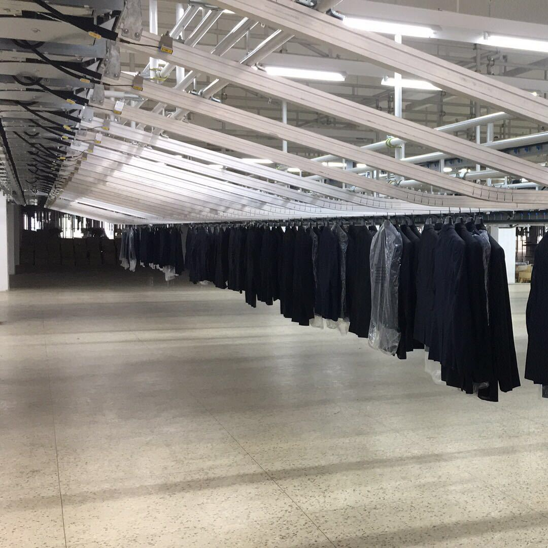 智能工厂服装行业-成衣智能分拣系统