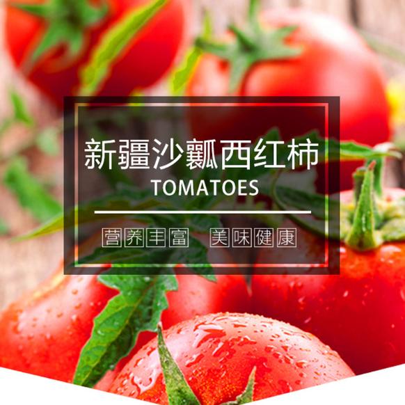 供应 沙瓤西红柿 新疆特产
