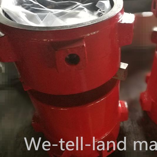 宝鸡钻机设备配件 SL675水龙头冲管总成及盘根总成 威特朗机械厂家直销