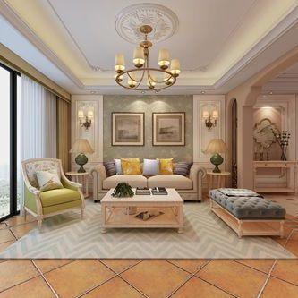 合肥山水装饰集团设计作品蓝天花园135平方四室居美式风格方案报价效果图分享