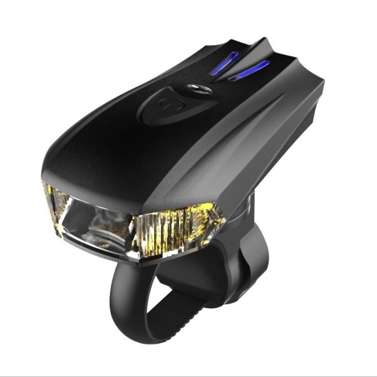 供应 警示智能感应 震动USB充电夜骑行 山地自行车灯 前灯装备