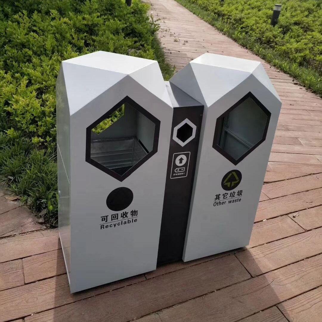 鍍鋅板垃圾桶 白鋼垃圾桶 分類垃圾桶有幾種