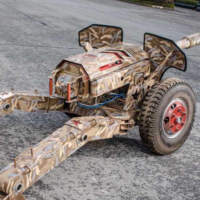 大型仿真气炮-模型气炮-振宇协和游乐气炮厂家