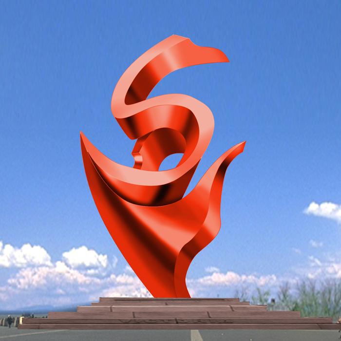 校園雕塑 學校周年慶雕塑 校園文化主題雕塑 不銹鋼雕塑廠家