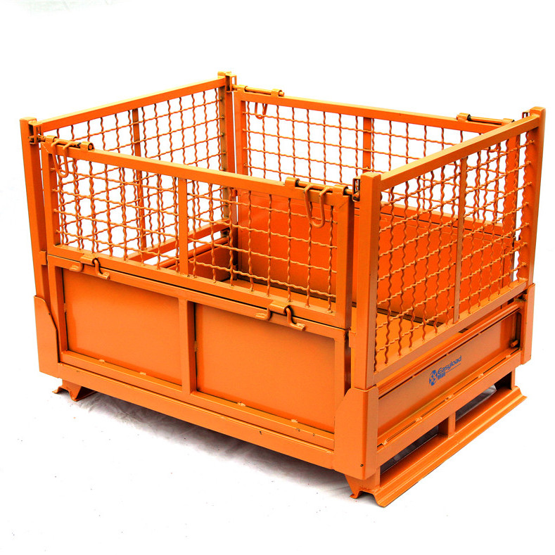 铁笼子固定仓储笼物流快递分拣筐仓库储物折叠蝴蝶笼大铁筐周转箱