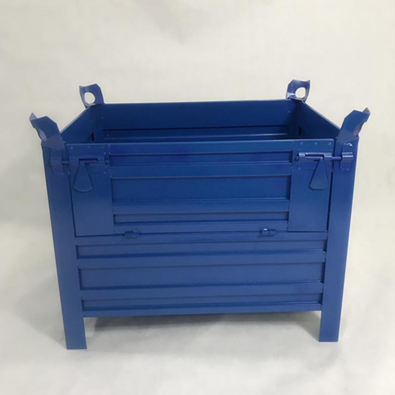 铁周转箱 工业厂车间五金工具箱物流零件金属重型 铁箱 加厚