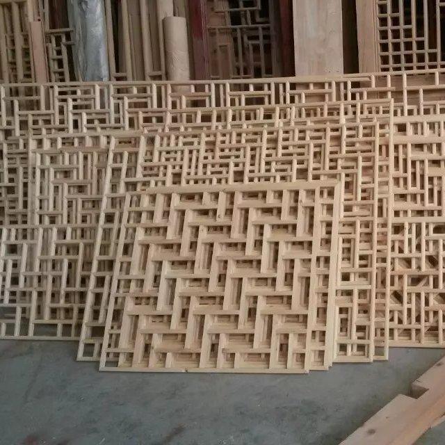 木质雕花屏风_屏风隔断特点及屏风设计效果图片_福运木雕厂家