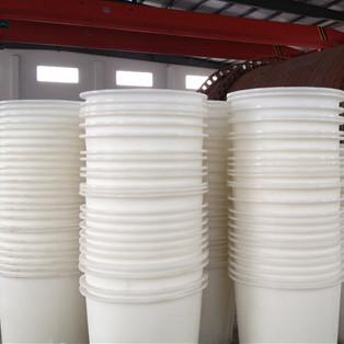 重庆铜梁区优质M-3000L白色塑料圆桶养殖水桶力佑销售